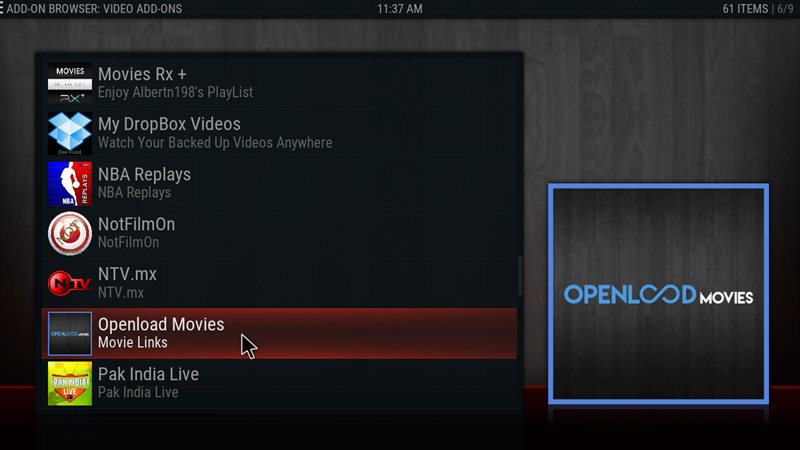 kodi openload movies 17