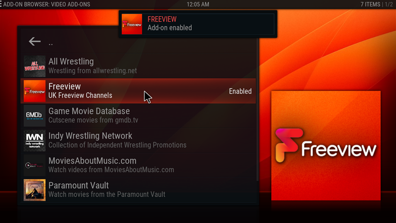 kodi freeview 23