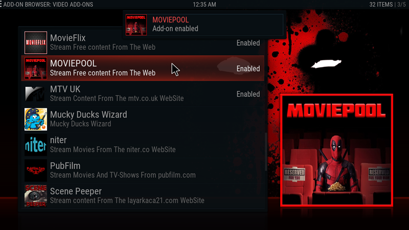 kodi moviepool 21