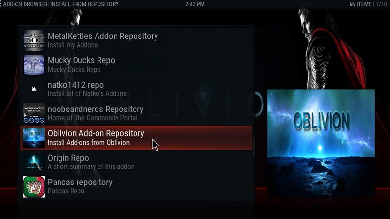 Oblivion Streams update v1 7 – Greekodi