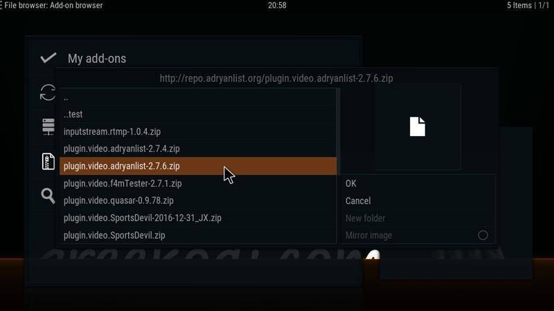 AdryanList v2 7 6 – Greekodi