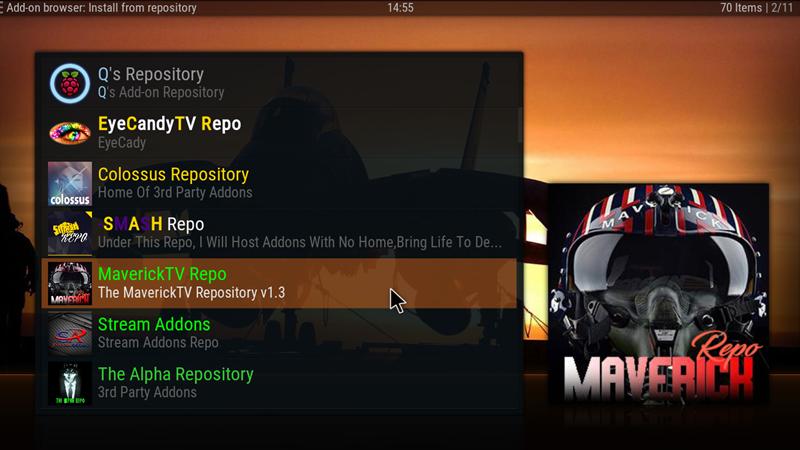 Maverick TV v6 9 (New Repo) – Greekodi