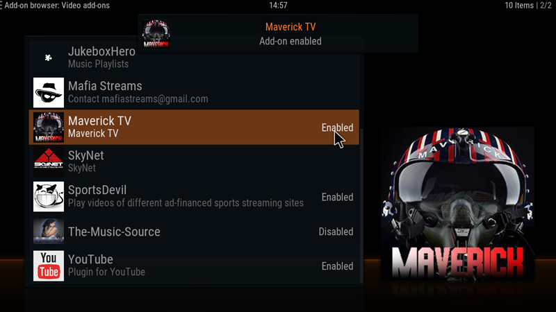 Maverick TV v6 9 (New Repo) – Greekodi